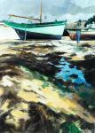 Fanch Moal - Le Cap-Sizun Acrylique 46 x 65