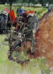 Fanch Moal - Le vieux Massey Acrylique sur toile 42 x 56